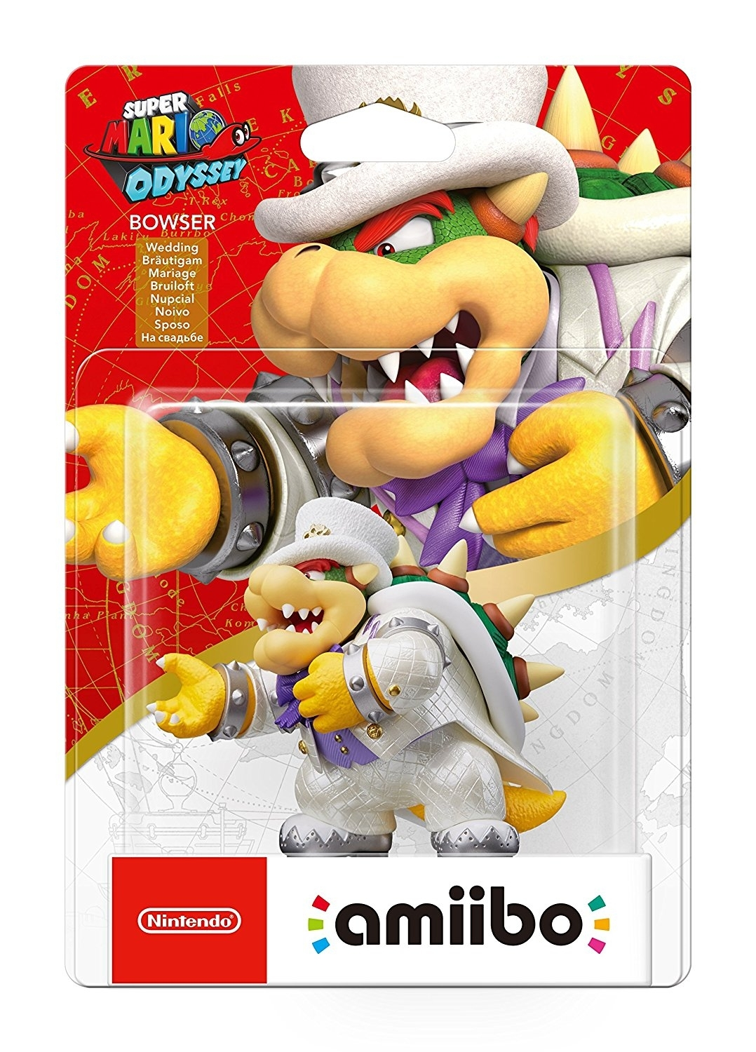 Figurka Amiibo Wedding Bowser Super Mario Odyssey (WiiU, 3DS,2DS, Nintendo Switch)